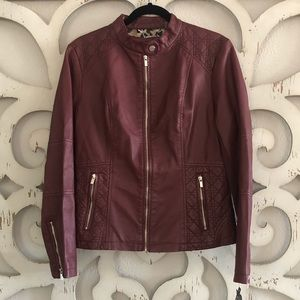Black River Faux Leather Jacket